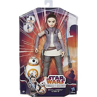 Star Wars Forces of Destiny: Rey & BB-8, doll 28 cm