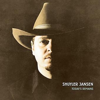 Shuyler Jansen - Today's Remains [CD] USA import