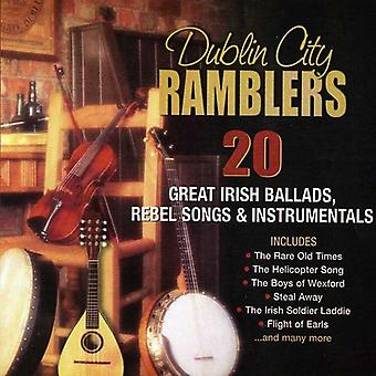 Dublin City Ramblers - 20 Great Irish Ballads Rebel Songs & Instrumentals [CD] USA import