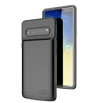 Batterieschale 5000mAh - kompatibel mit Samsung Galaxy S10 5G - schwarz