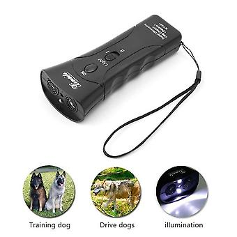 Ultrasonic Dog Chaser Stop - Aggressive Animal Attacks Repeller Flashlight