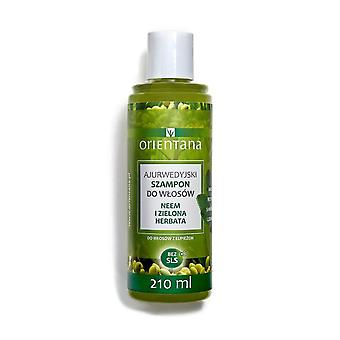 Ayurvedic Hair Shampoo Neem & Green Tea, 210 Ml