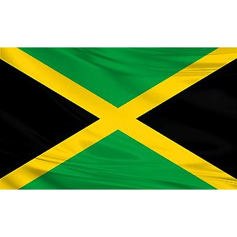 Jamaica Vlag 3ft x 5ft Polyester Stof Land Nationaal