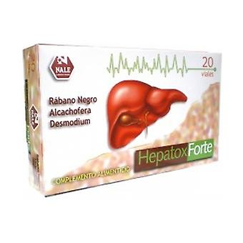 Hepatox Forte 20 vials