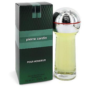 Pierre cardin pour monsieur eau de toilette spray by pierre cardin 550232 75 ml