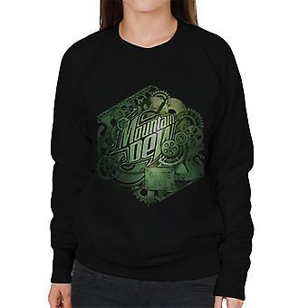 Berg dauw cogs van een frisdrank vrouwen ' s Sweatshirt