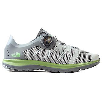 The North Face Litewave Flow Boa Mens Outdoor Walking Hiking Shoe Grey