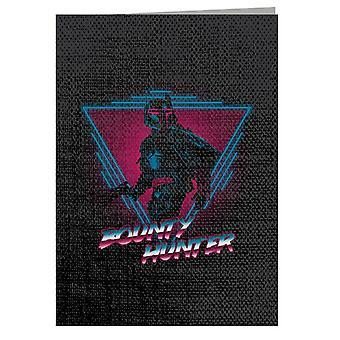 Judge Dredd Bounty Hunter Greeting Card