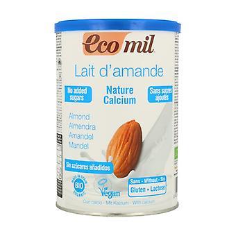 Organic Sugar-free Almond Beverage Powder with Calcium 400 g