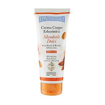 Sweet Almond Body Cream 200 ml of cream