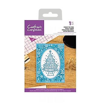 Crafter's Companion Clear Stamps - Sous l'arbre
