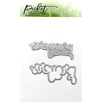 Picket Fence Studios Prières Foil et Cutting Die