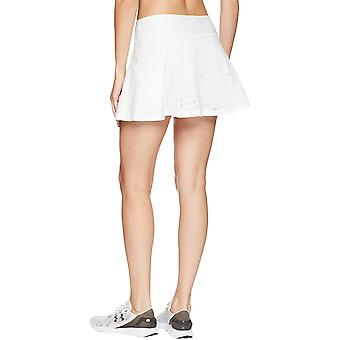Under Armour Womens Centre Court Sports Active Tennis Skirt Shorts Skort - White