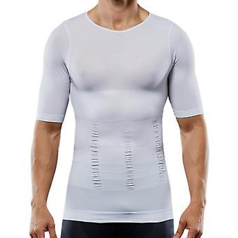 Men seamless sport compression elastic shape-wear