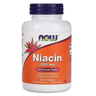 Ora Alimenti, Niacina, 500 mg, 250 Compresse