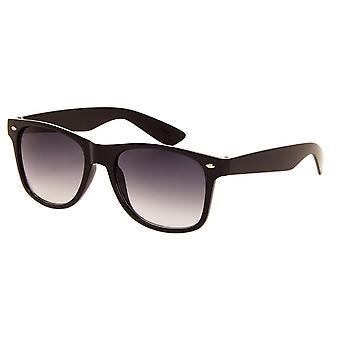 نظارات شمسية للجنسين الأسود الأصلي مع عدسة رمادية (AZ-50)