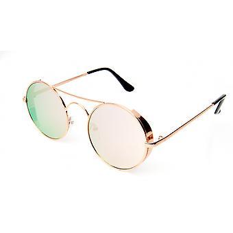 Solglasögon Unisex guld/rosa (20-098)