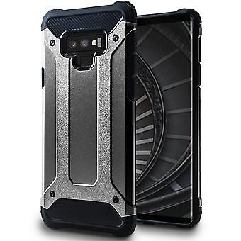 Hybrid Mobile Shell for Samsung Galaxy Note 9 | Grey | TPU and Plastic