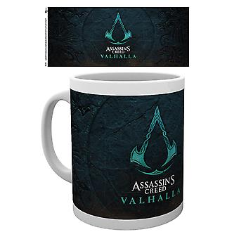 Assassin's Creed cup Valhalla logo printed, made of ceramic, socket÷gen approx. 300 ml., in gift box.