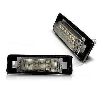 Illuminazione targa LED MERCEDES W210 SEDAN W202 SEDAN