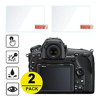 2x Tempered Glass Screen-protector For Nikon Z6/z7/z50/d500/d850/d750/d7500/d7200/d7100/d810/d800/d610/d3500/d3400/d5600/d5500