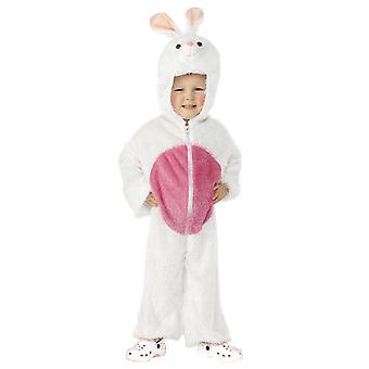 Kids Age 4 - 9 Years White Easter Bunny Rabbit Fancy Dress Costume