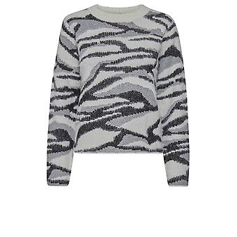 b.young Nolle Black & White Jumper