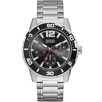 Guess W1249G1 Trek Quartz Black Dial Men's Watch