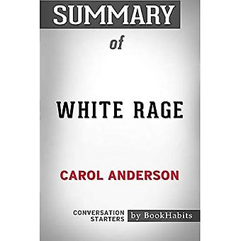 Summary of White Rage by Carol Anderson | Conversation Starters