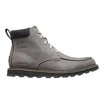 Sorel Madson Moc Toe Waterproof Boots - Quarry