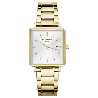 Rosefield the boxy Watch for Women Analog Quartz with Stainless Steel Bracelet QWSG-Q041