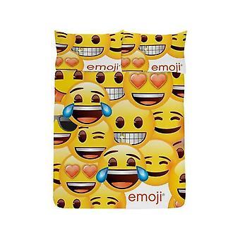 Emoji Smiley Face Duvet Cover Set