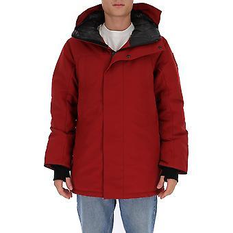 Canada Goose 3400m261 Men's Red Nylon Down Jacket