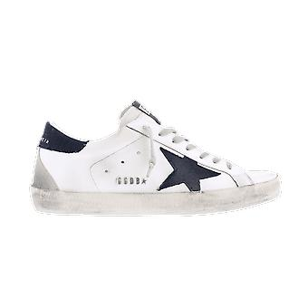 Golden Goose Superstar Leather Denim White GMF00102F00060910341 shoe