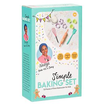 Nadiya Hussain Nadiya's Simple kids baking set childrens cooking set for ages 4+