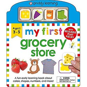 My First Play and Learn: My First Grocery Store [Board book]