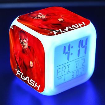 Colorful Multifunctional LED Children's Alarm Clock -The Flash Season 4 #7