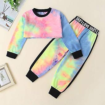 Girls Sweatshirts-pants Clothing Sets