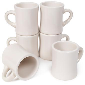 10 oz. kávové hrnky, 6 balení