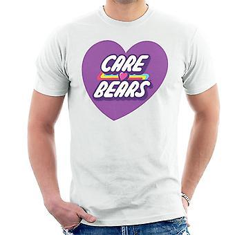 Care Bears Desbloqueiam A Camiseta do Coração Púrpura Mágico
