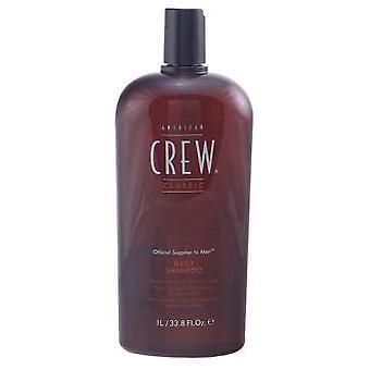 Amerikkalainen miehistö Daily Shampoo 1000 ml