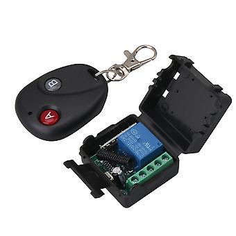 Codice di apprendimento 12V del trasmettitore dell'interruttore di controllo remoto del relè della porta del garage