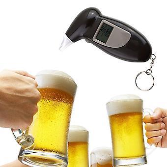 Bakgrundsbelysning Digital Alkohol Testare Digital Alkohol andetag Tester/ lcd Detektor