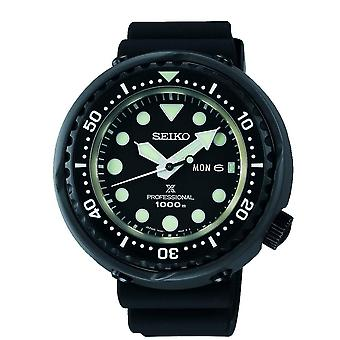 Seiko S23631J1 Prospex Thon Noir Silicone Professional Diver's Men's Watch