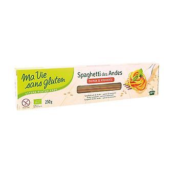 Andeenispagettia, luomukvinoaa ja amaranttia 250 g