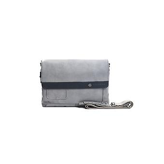 Piquadro Grey Navy Messenger Bag