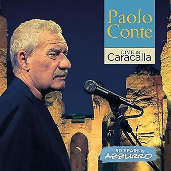 Paolo Conte - Live in Caracalla - 50 Years of Azzurro (Live) [CD] USA import