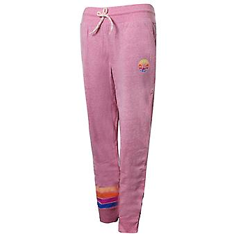 Converse Junior Girls Sunset Jogger Sweat Track Pantaloni Roz 466284 A4P