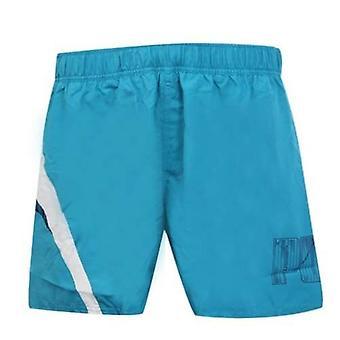 Puma No 1 Logo Swimming Lightweight Swim Plain Blue White Shorts 509679 02 A6B