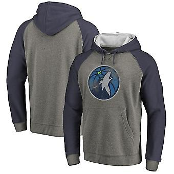 Minnesota Timberwolves Pullover Felpa con cappuccio Swearshirt Tops 3WY577